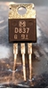 Image de Panasonic 2SD837Q Transistors, NOS, 100/bag