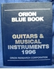 Image de Orion Blue Book: 1996 Guitars & Musical Instruments