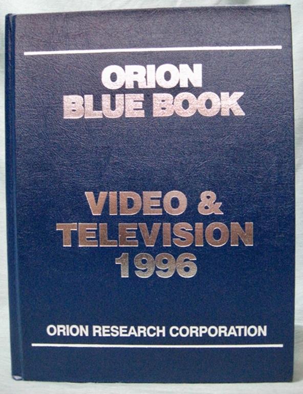 Afbeelding van Orion Blue Book: 1995 Video & Television