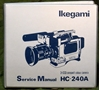 Picture of Ikegami HC-240A Service Manual