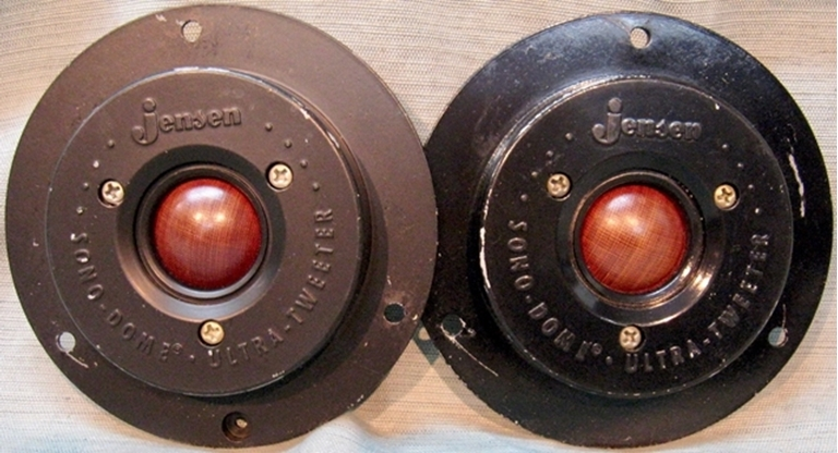Image sur Jensen E-10 C7432 Sono-Dome Ultra-Tweeter Pair.