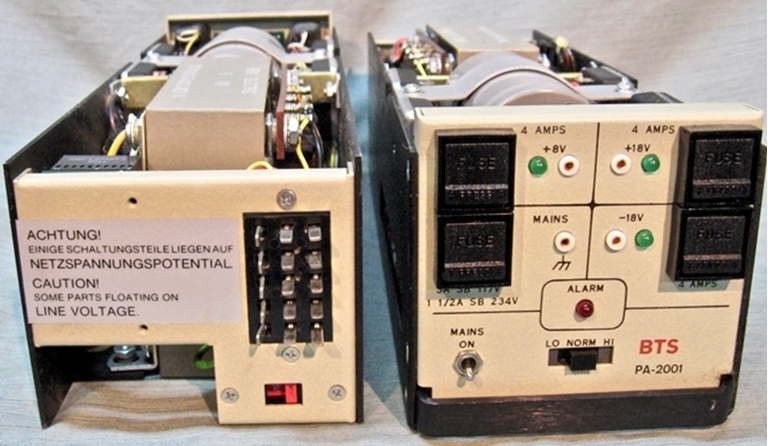 Afbeelding van BTS (Broadcast Television Systems) PS-2001A Power supplies