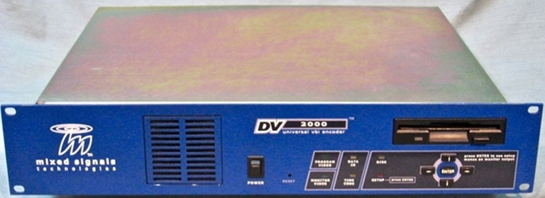Image sur DV2000 Universal VBI Encoder, from Mixed Signals Technologies