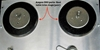 Afbeeldingen van Ampex 350 Reel Table Trim rings (pair).