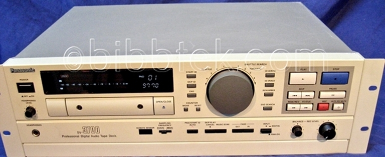 Picture of Panasonic SV-3700 Dat, Very low hours